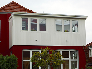 Dreifach Kunststofffenster